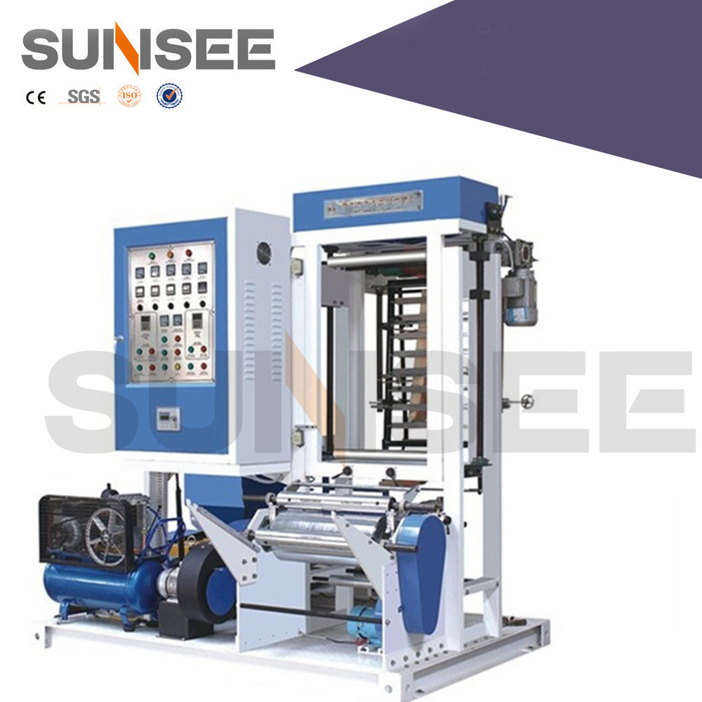 Mini Film Extruder to Making Vest Bag Line (factory supply)
