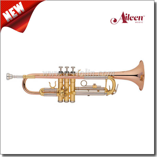 Y Style-Upgrade Model Rose Brass Leadpipe Trumpet (TP8391G-SRY)