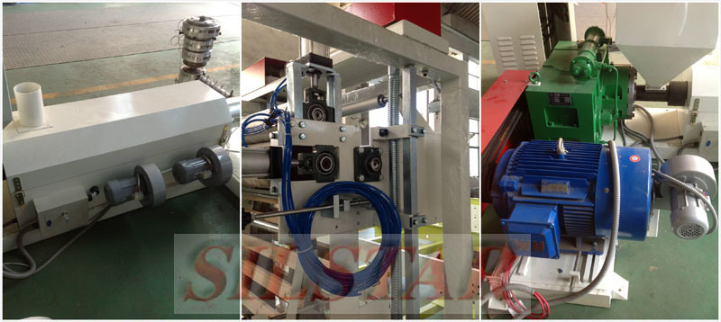 Double-Heads Plastic Film Blowing Machine (GBC-600)