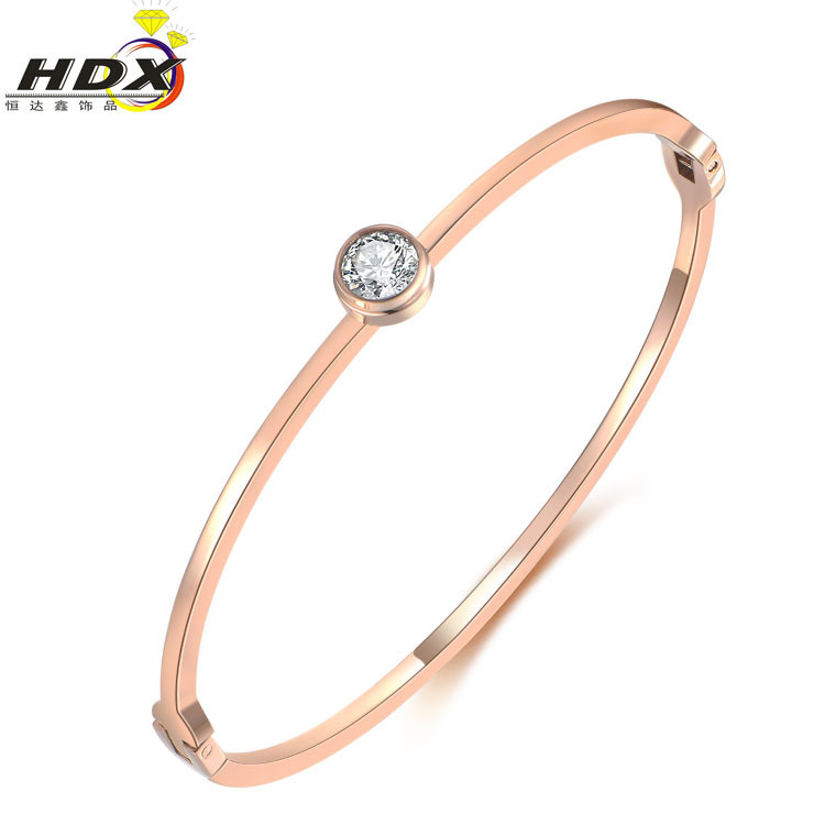 316L Stainless Steel Bracelet Fashion Jewelry Diamond Bracelet (hdx1065)