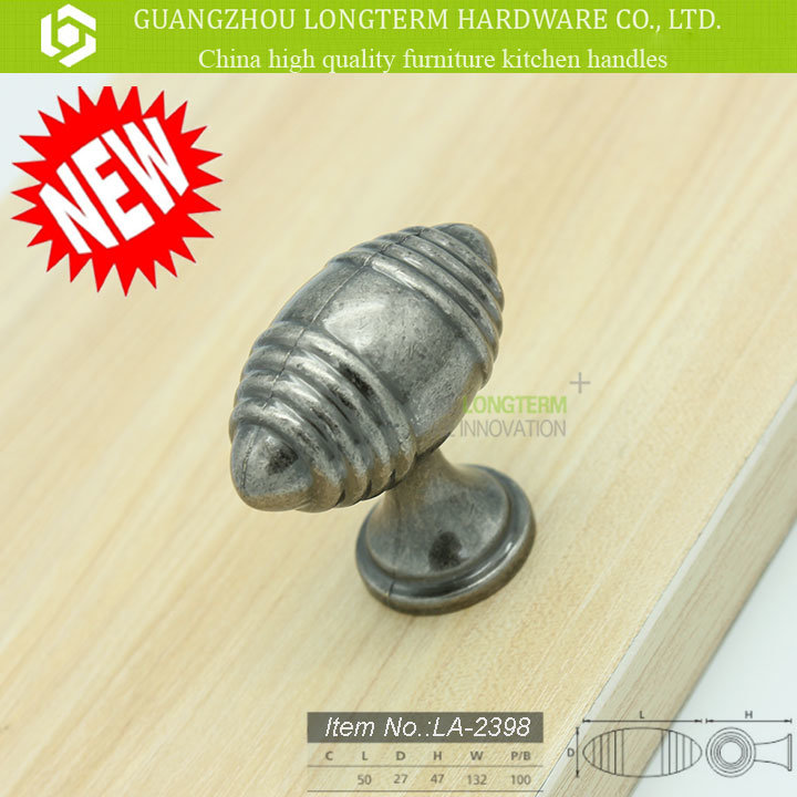 Small Zinc Alloy Knob in Stock for Cabinet Furniture