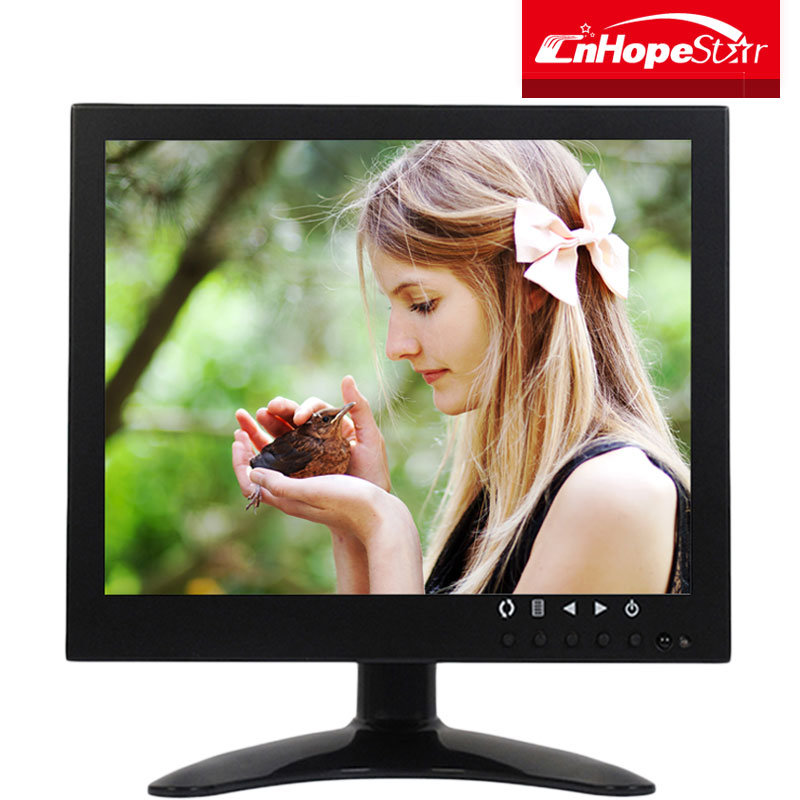 "Industrial BNC AV HDMI 7"" Inch Mini LED CCTV Test Monitor for Security System"