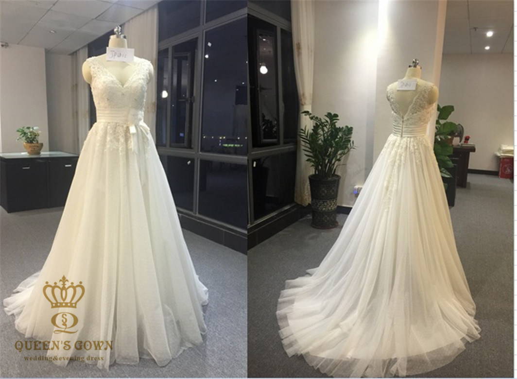 Harness Straps Lace Bridal Wedding Tull Princess Dress, Customized