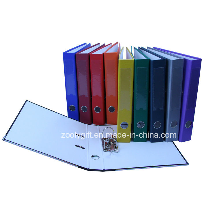 PP Covering Spine Label Pocket Printed Paper Lever Arch File
