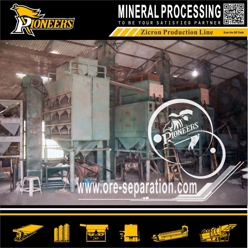Wholesale Mineral Processing Equipment for Titanium Zircon Rutile Ore