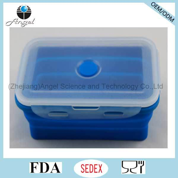 Hot Sale Indian Silicone Tiffin Lunch Box Silicone Food Storage Sfb10 (1200ML)