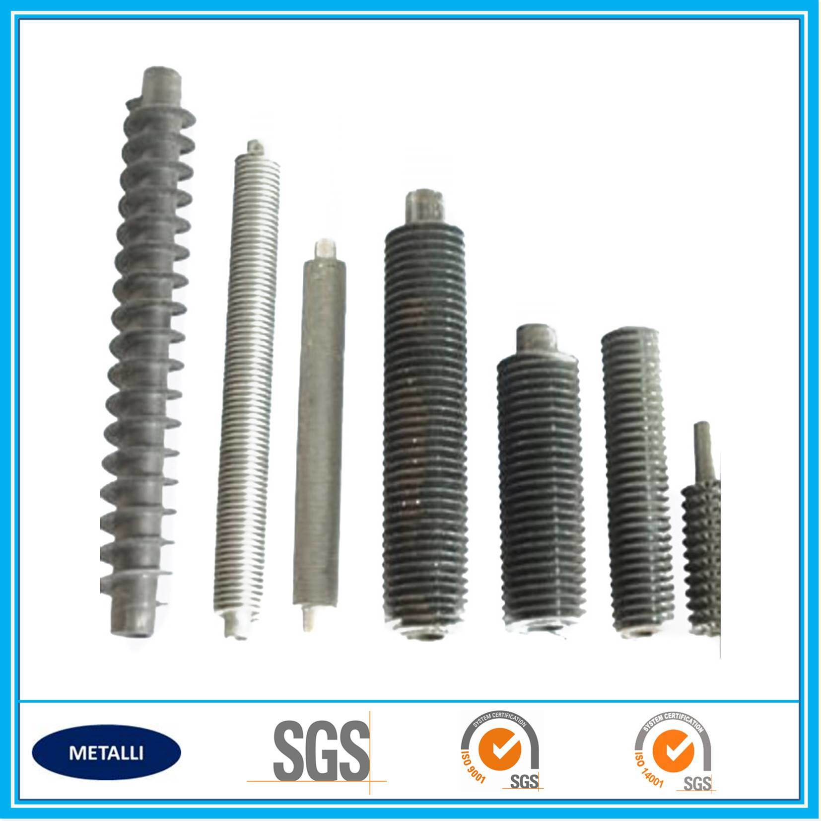 Hot Sale Welded Spiral Fin Tube