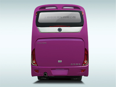 Sunlong Slk6128A6n Natural Gas Passenger Bus