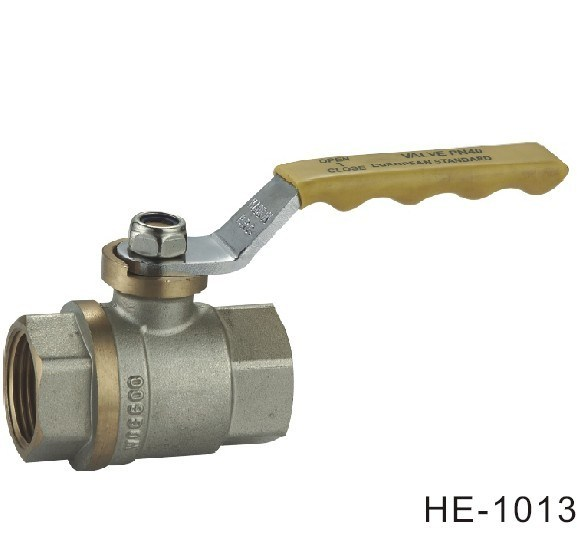 (HE1012--HE1014) Brass Ball Valve Pn16 with Level Handle for Water, Oil