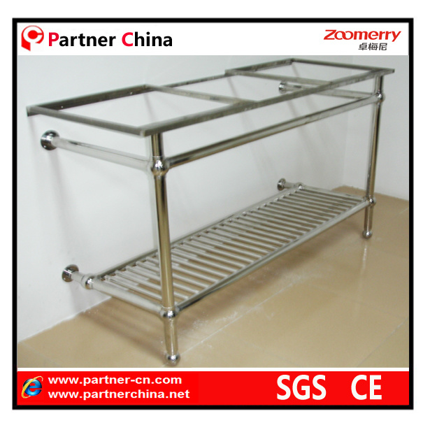 Stainless Steel Bathroom Sink Vanity Base (10-101)