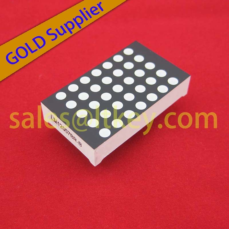 5X7 LED DOT Matrix with Different Matrix Heights