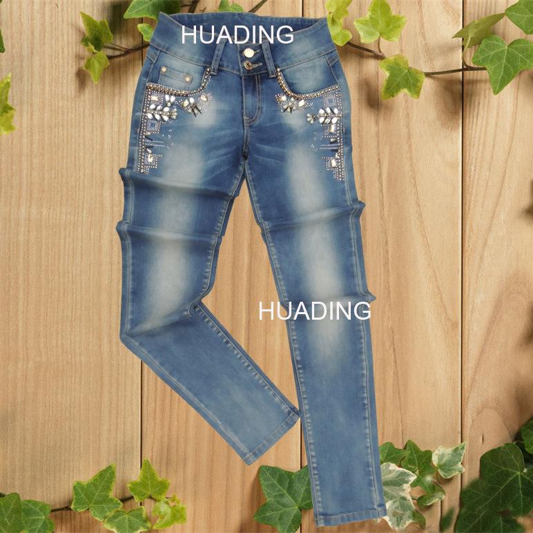 Wholesale Custom Hot Sell Fashion Denim Jeans (HDLJ0031)