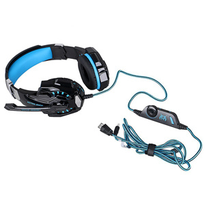 Hifi G9000 Multi-Function Gaming Headphone with Mic Noise Cancelling