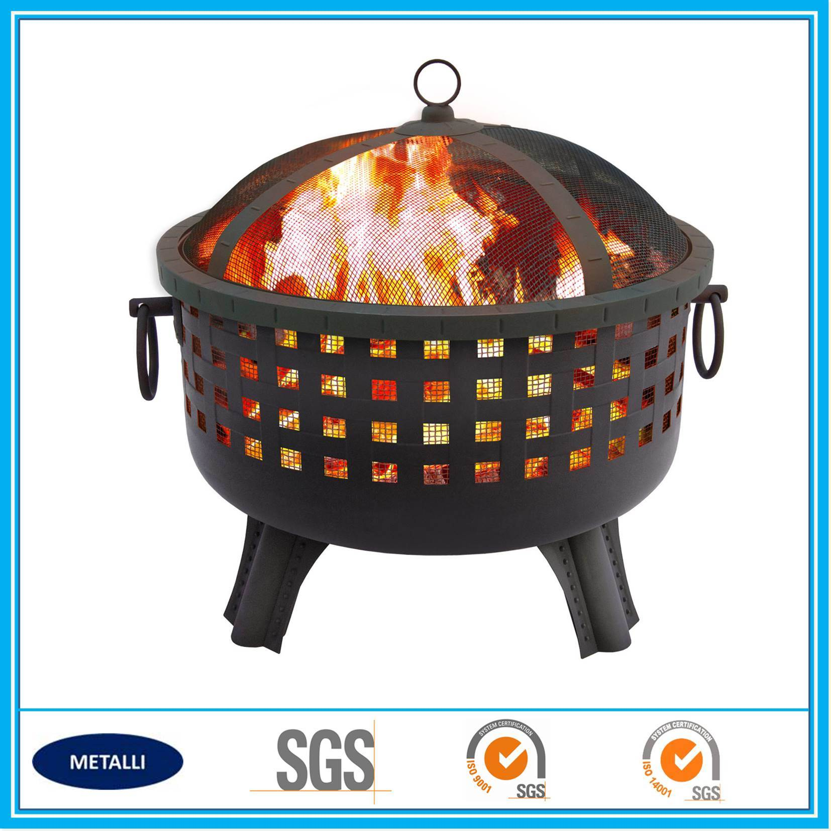 Best Portable Modern Backyard Large Steel Outdoor Fire Pit