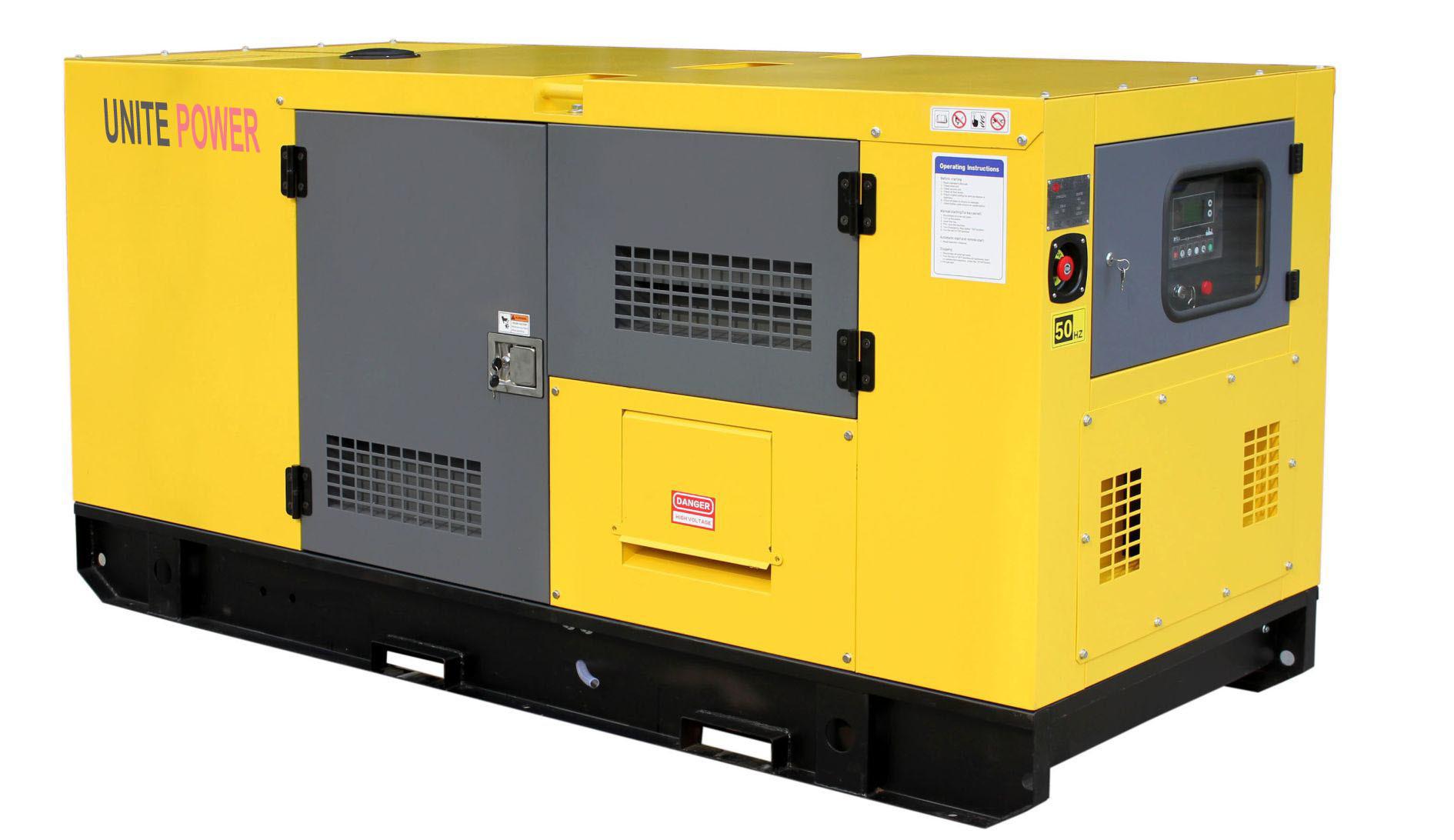 China 15kVA Yanmar Portable Silent Diesel Generator for Home Use