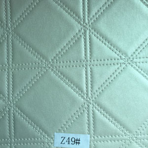 Synthetic Leather (Z49#) for Furniture/ Handbag/ Decoration/ Car Seat etc