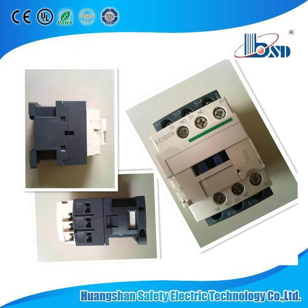 AC Contactor, Magnetic AC Contactor (LC1D, CJX2, 3TF, 3RT)