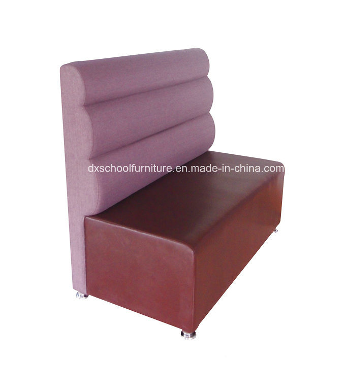Outdoor Fabric Purple Color High Back Booth Sofa Office Sofa (CA323)