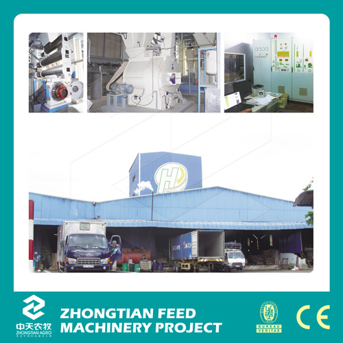 Livestock and Poultry Animal Complete Feed Pellet Mill Plant