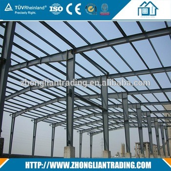 Prefabricated Pre Engineered Steel Structure Work Shop