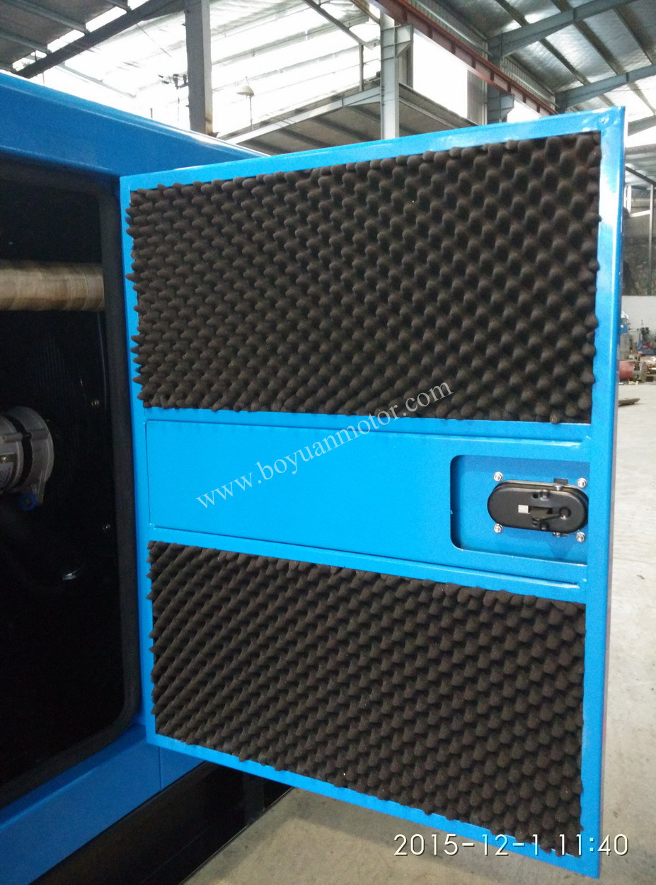 Chinese Engine Electric Soundproof Diesel Generator Set Diesel Engine (20KW~200KW)
