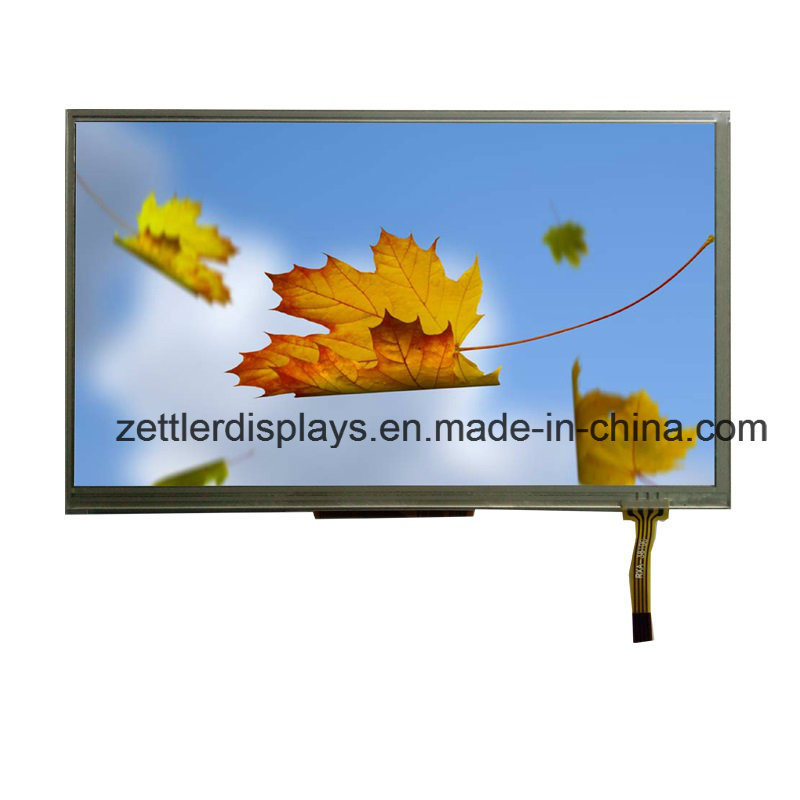 "7"" TFT LCD Display with Lvds Interface Touch Panel: ATM0700L6A-T"
