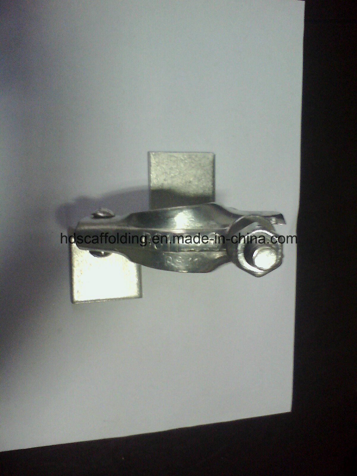 Scaffolding Pressed Board Retaining Coupler