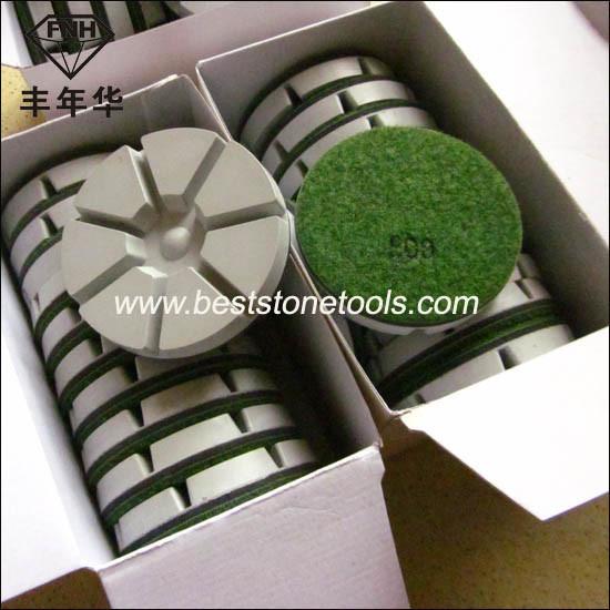 Resin Dry Diamond Floor Polishing Pad for Stone Concrete Grinding