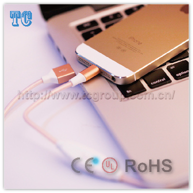 High Quality Data Protection Fast Charge Datacable 1.2m for Apple