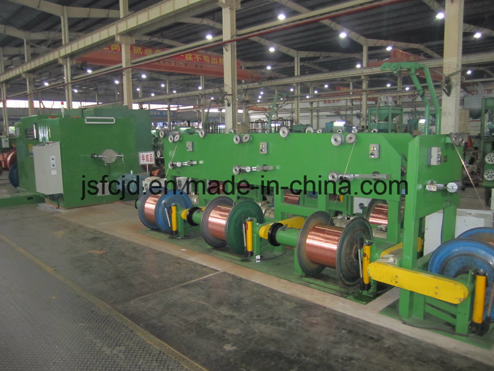 Gate Type Active Copper Wire Pay-off Machinery