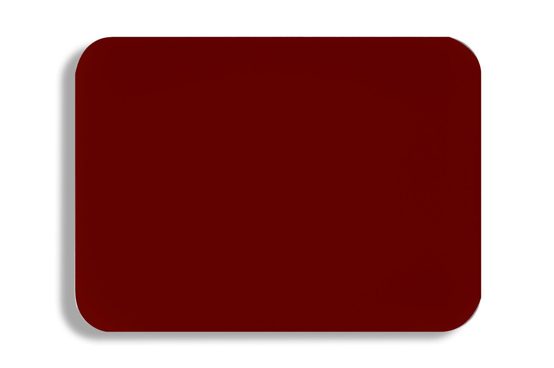 Aluis Exterior 5mm Aluminium Composite Panel-0.50mm Aluminium Skin Thickness of PVDF Dark Red