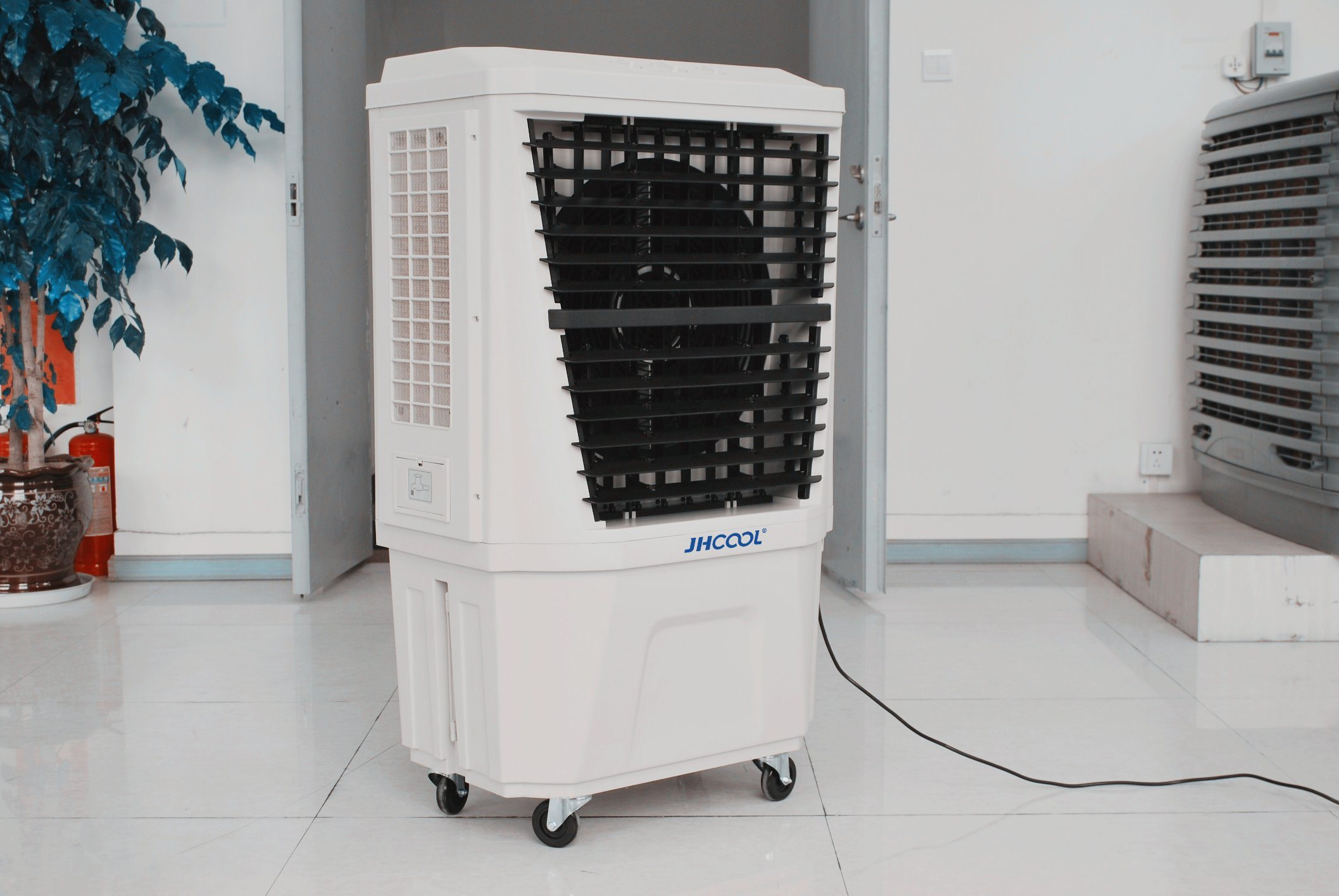Mobile Floor Standing Evaporative Air Conditioner for Restaurant (JH165E)