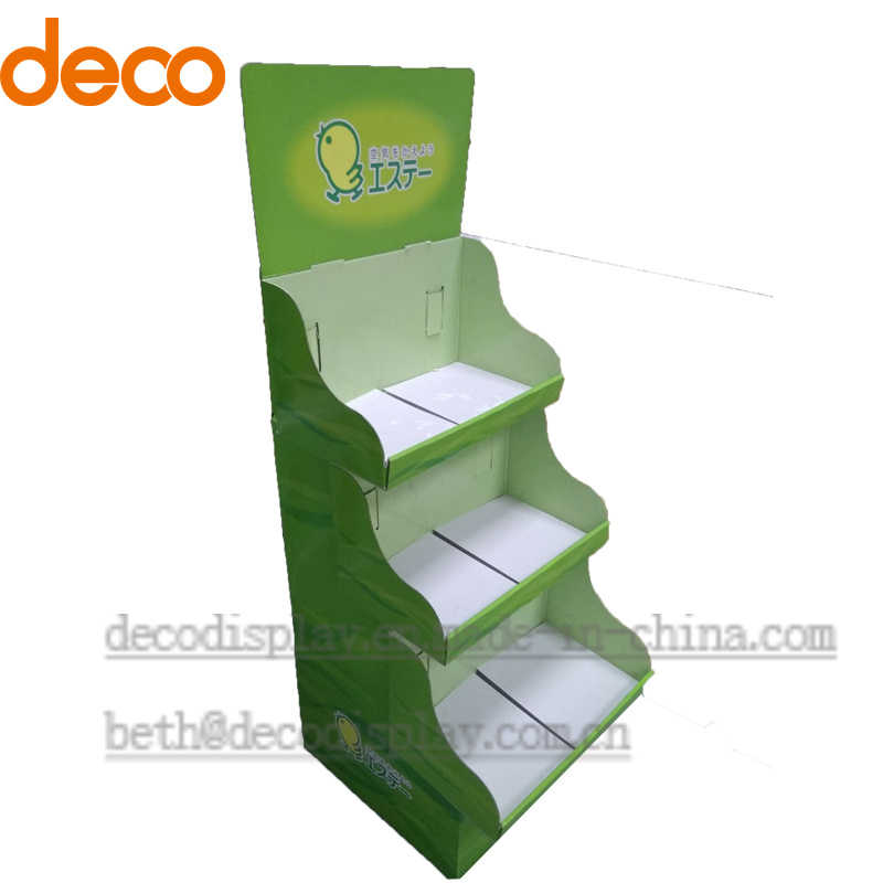 Pop Display Floor Paper Display Cardboard Display Stand