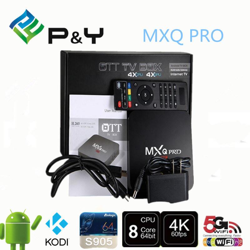 Factory OEM ODM Service Android 5.1 Marshmallow TV Box S905 Quad Core Mxq PRO Kodi Xbmc TV Box