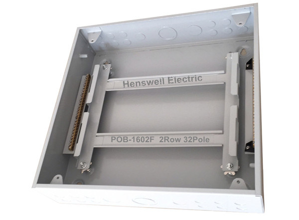 2 Row Type Metal Distribution Box