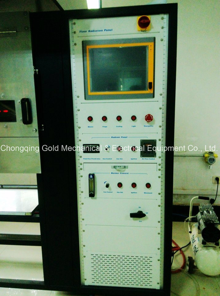 ISO 9239 Flooring Radiant Panel Test Equipment, Flooring Fire Tester ISO9239 Astme648