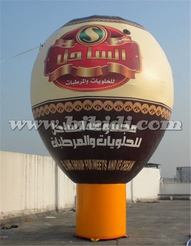 Good Quality Hot Air Shape Inflatable Ground balloon K2078