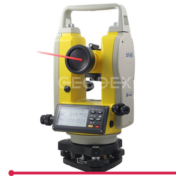 Laser Theodolite Dt-102L with 200m Laser Point