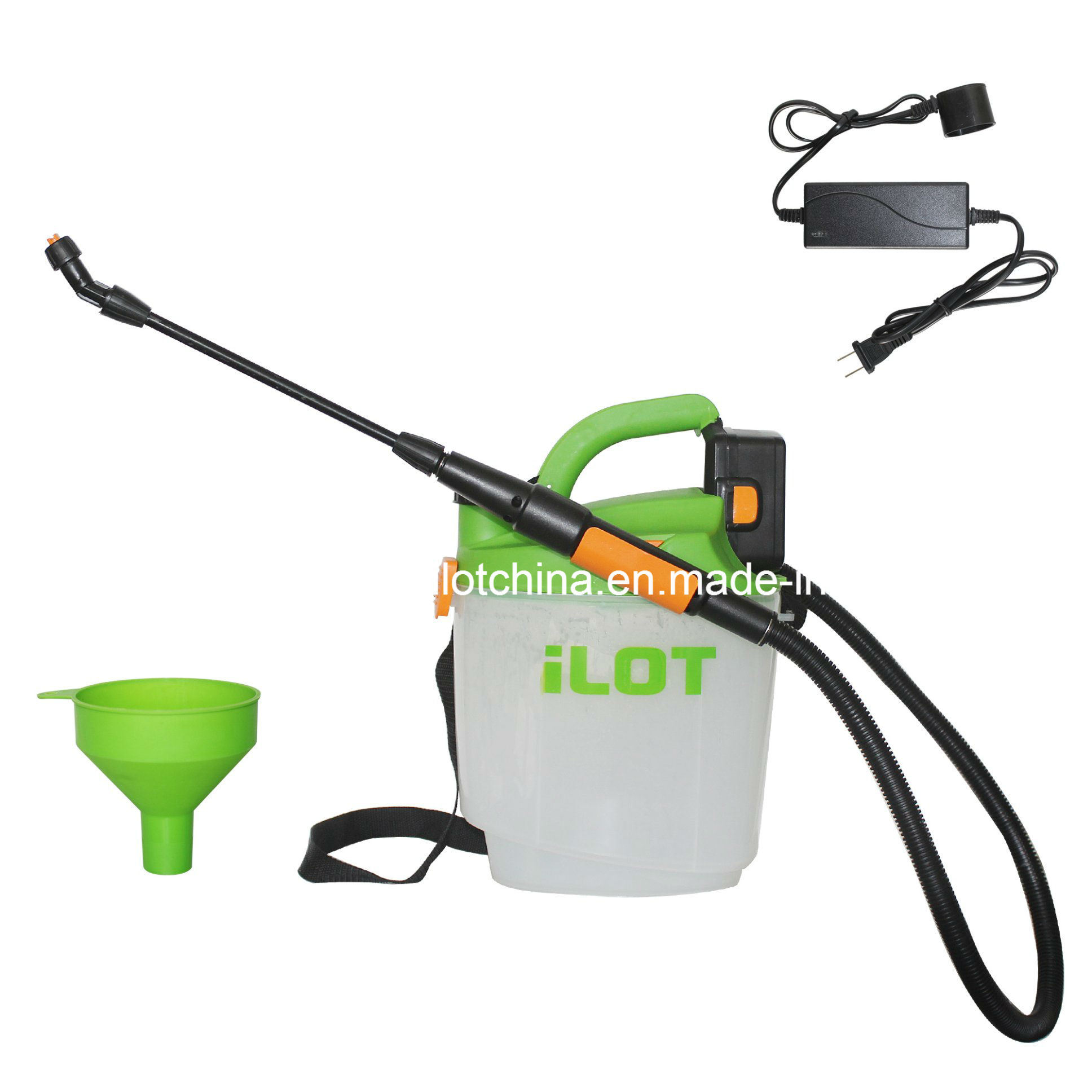 Ilot Airless Paint Sprayer with Detachable Lead-Acid Battery for Fence Painting etc.