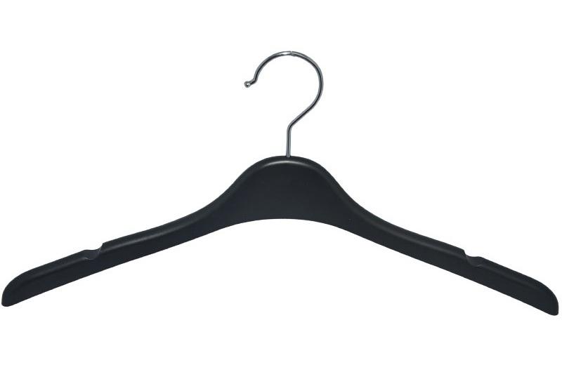 Brand 17 Inches No Slip Custom Plastic Clothing Hanger