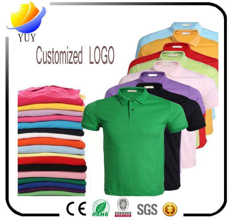 Polo T-Shirt Logo Can Be Customized Logo