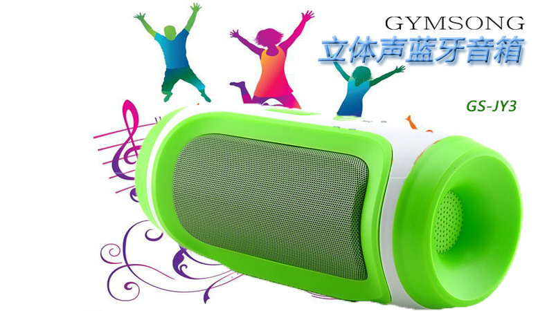 Gymsense GS-Jy3 High Quality Portable Wireless Stereo Speaker