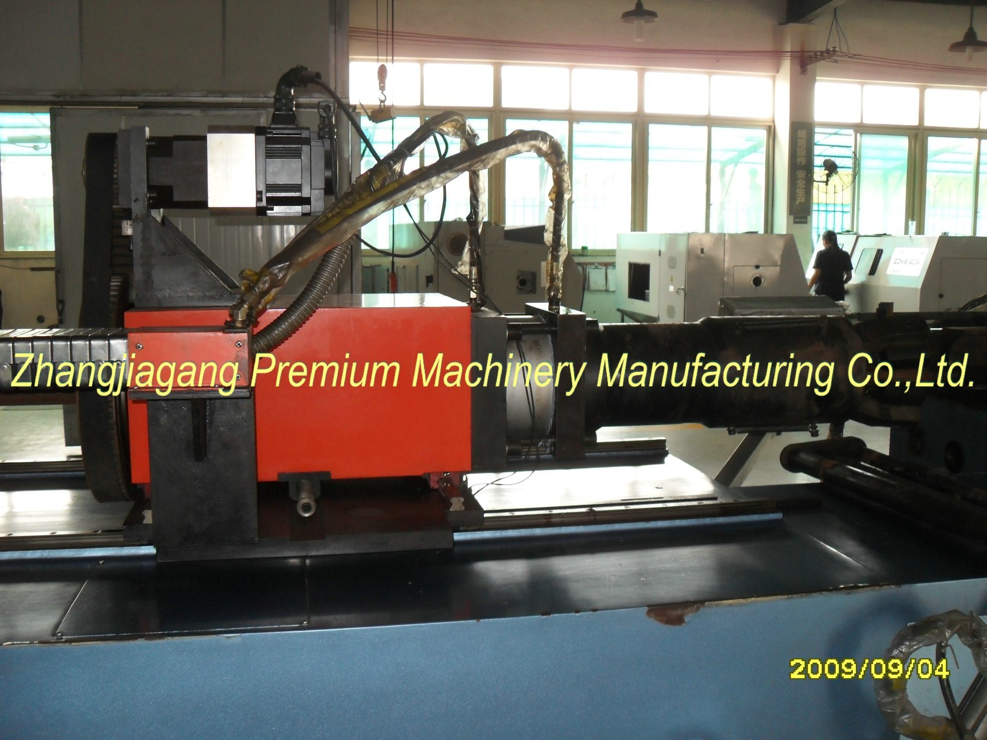 Diameter 97mm Plm-Dw115CNC Pipe Bending Machine