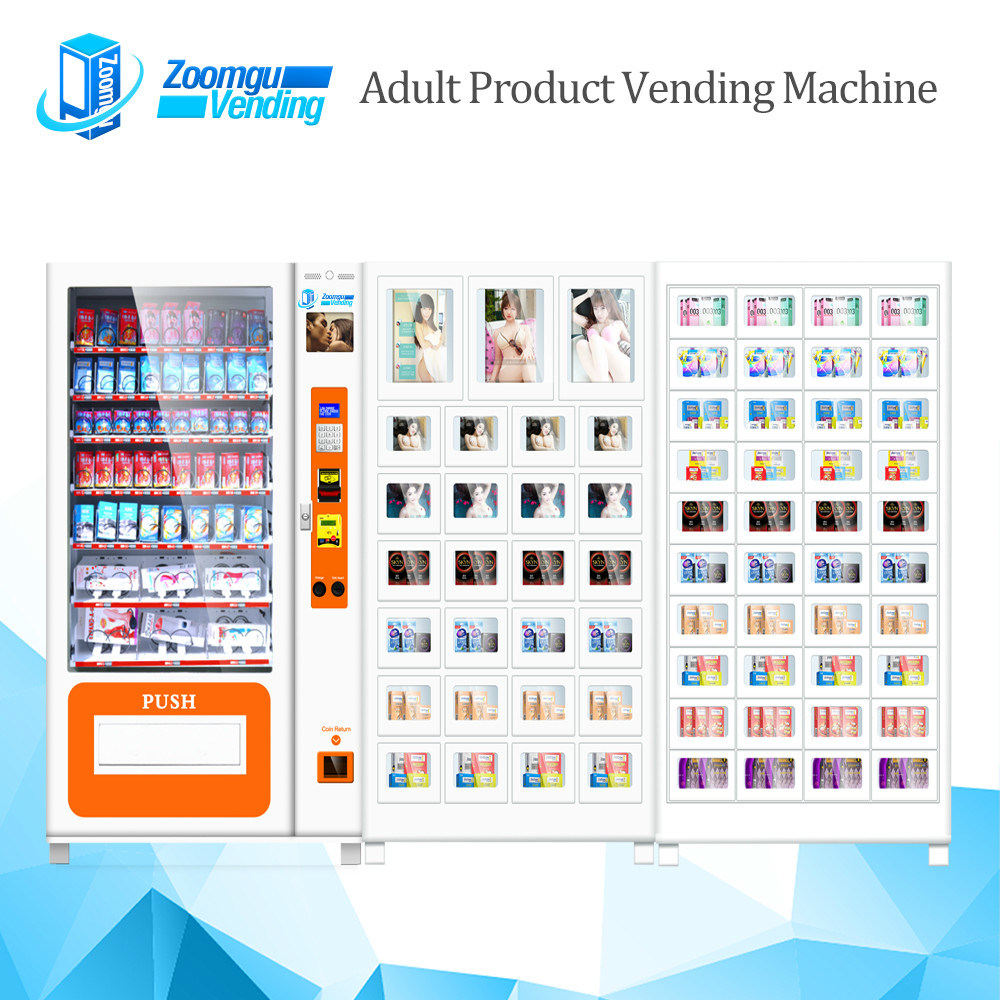 Multi-Cabinets Sexy Toy Vending Machine Zg-S800-10+27s+40s