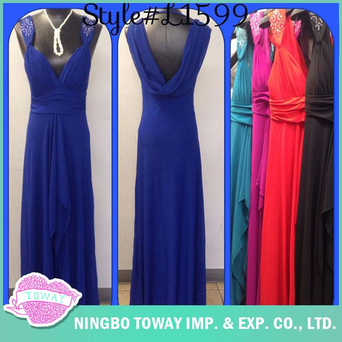 Summer Fashion Online Ladies Wedding Party Best Long Evening Dresses