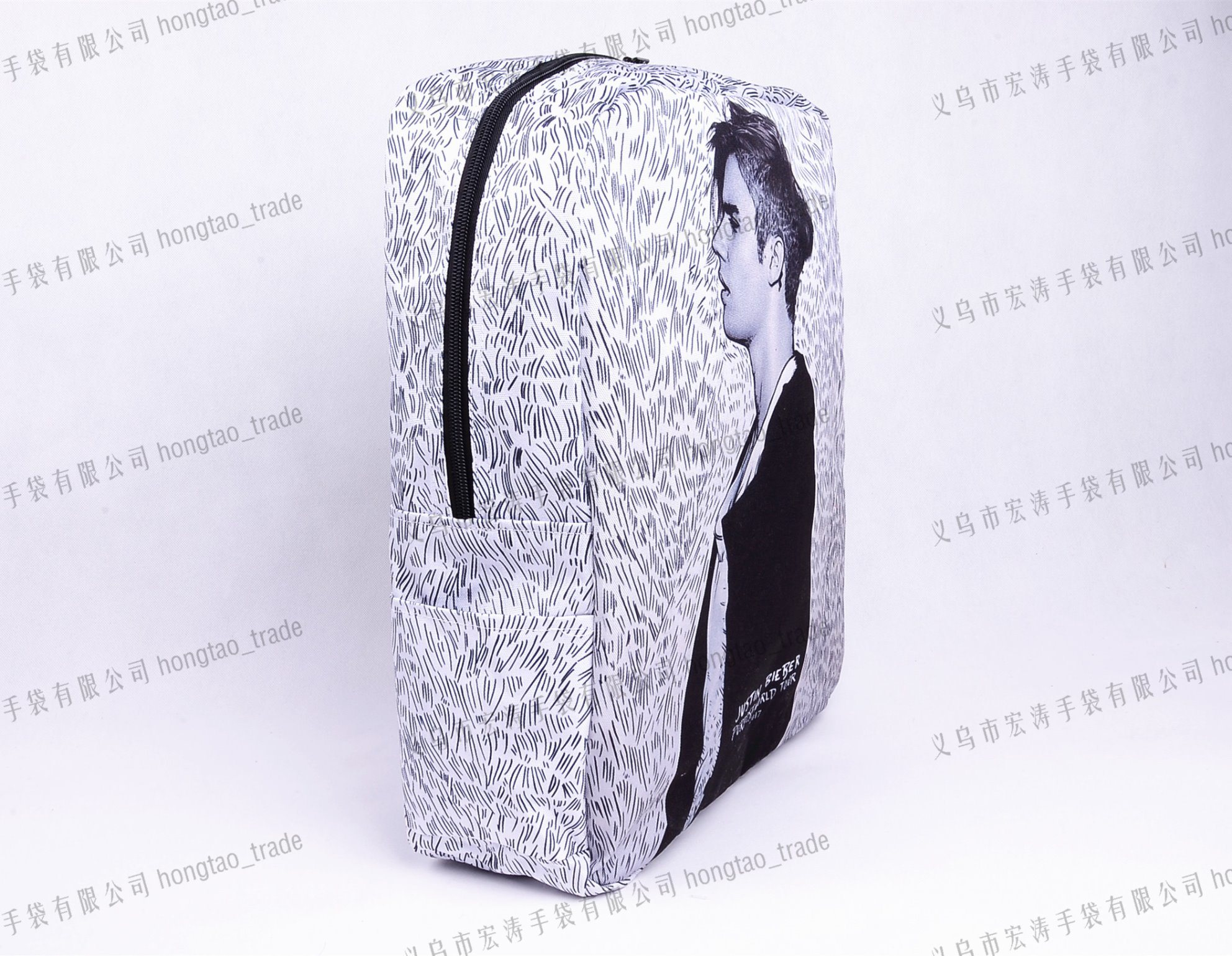 Thermal Dye Sublimation Waterproof Mode Portrait Printing Backpack