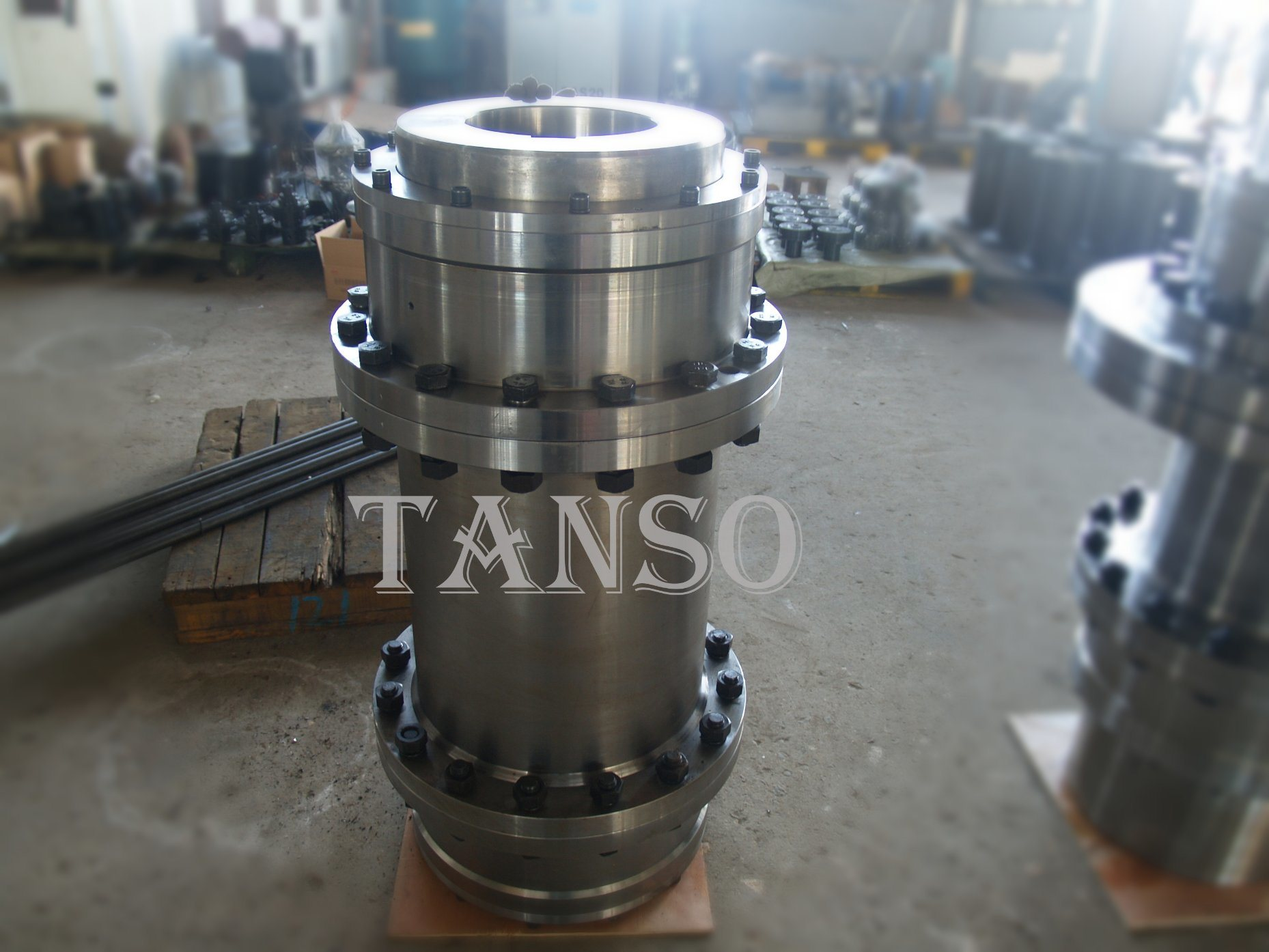 Wgt Gear Shaft Coupling with Floating Shaft