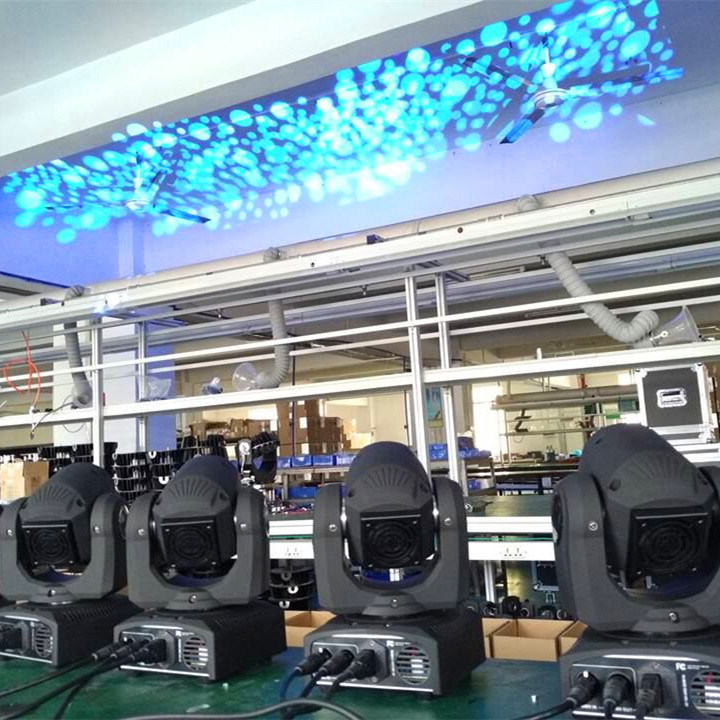 30W LED Mini Moving Head Light for Stage Disco DJ