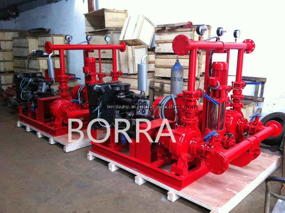 Water Supply Fire Fighting System Diesel Electric Jockey Fire Firghting Pump