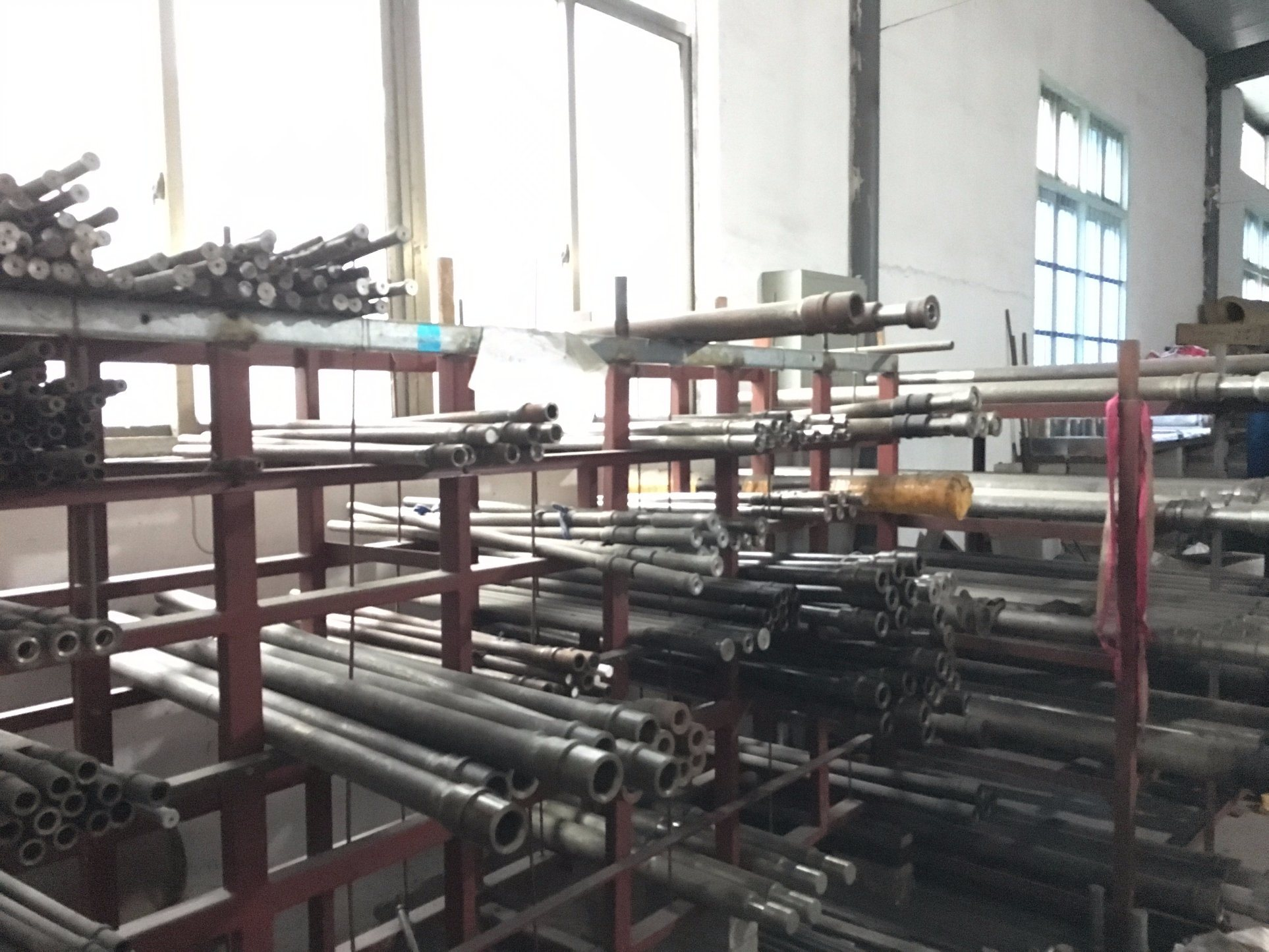 Horizontal PTFE Rod RAM Extrusion Machine
